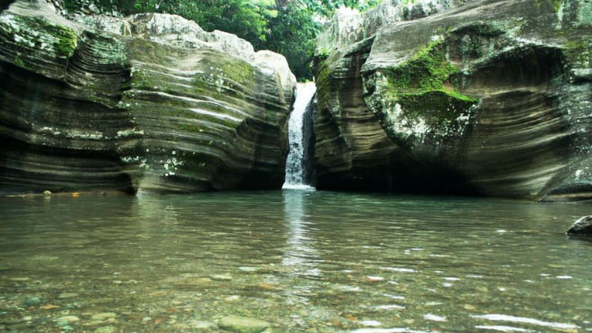 Air Terjun Luweng Sampang Air Terjun Luweng Sampang - Dolan Dolen
