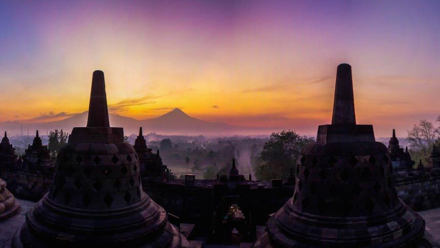 Candi Borobudur Sunrise Candi Borobudur Sunrise - Dolan Dolen