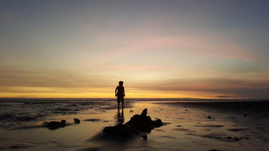 Sunset Pantai Kelating Tabanan Sunset Pantai Kelating Tabanan - Dolan Dolen