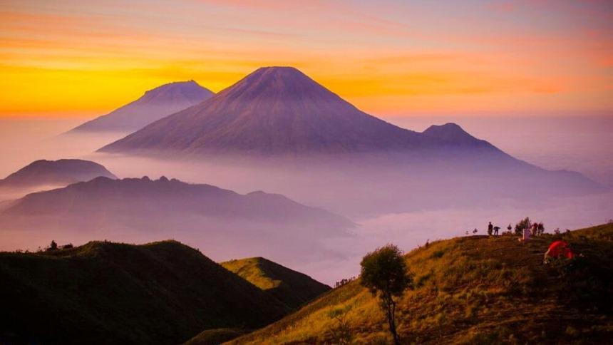 Gunung Prau Kembaran Papandayan Gunung Prau Kembaran Papandayan - Dolan Dolen