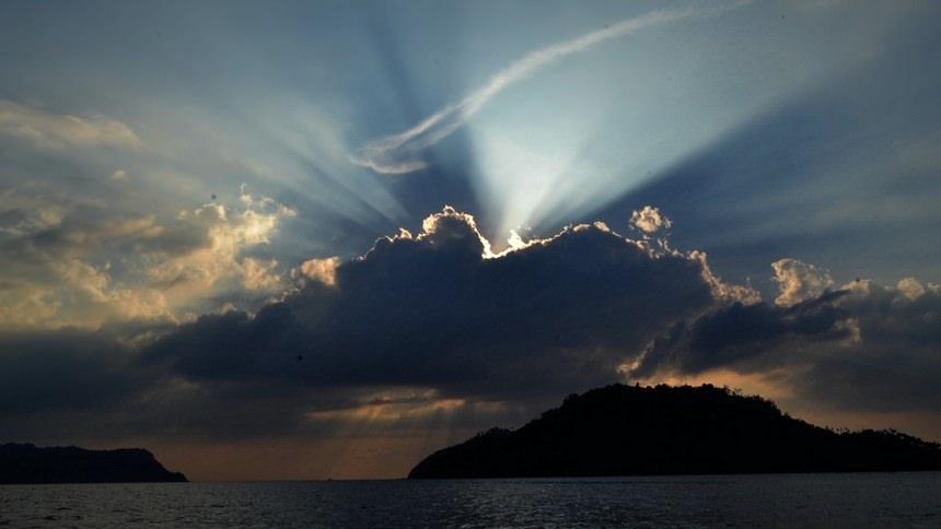 Sunset Pulau Breueh Sunset Pulau Breueh - Dolan Dolen