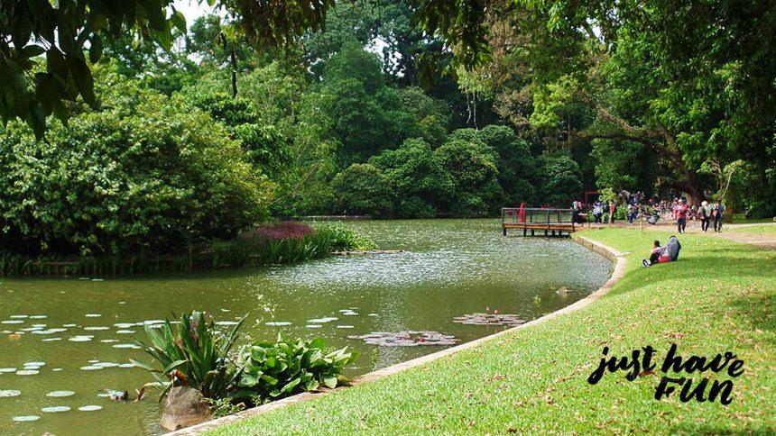 Danau Gunting Kebun Raya Bogor Danau Gunting Kebun Raya Bogor - Dolan Dolen