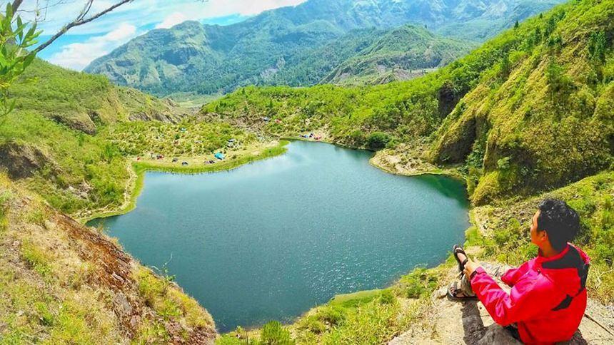 Danau Tanralili Bawakaraeng Danau Tanralili Bawakaraeng - Dolan Dolen