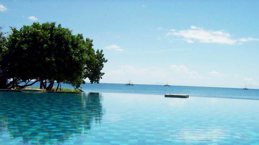 Keindahan Pantai Tanjung Lesung Keindahan Pantai Tanjung Lesung - Dolan Dolen
