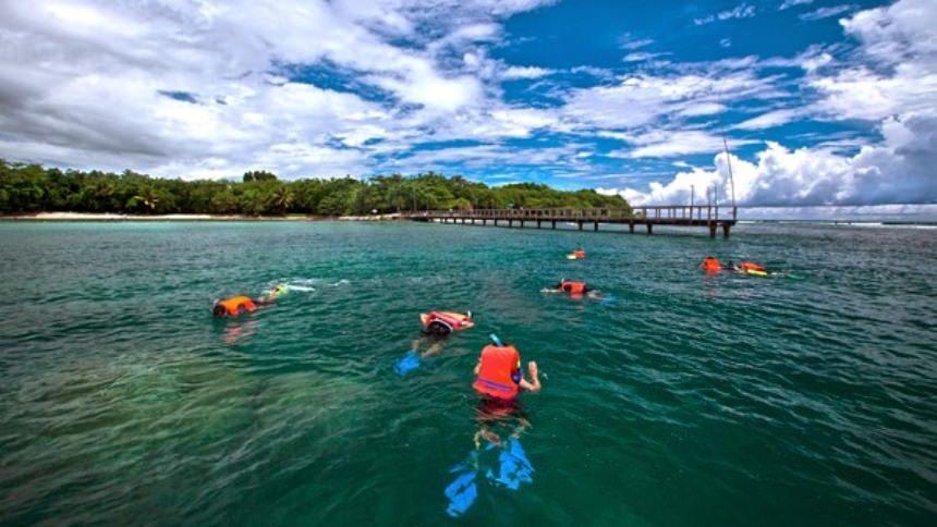 Snorkeling Pantai Tanjung Lesung Snorkeling Pantai Tanjung Lesung - Dolan Dolen