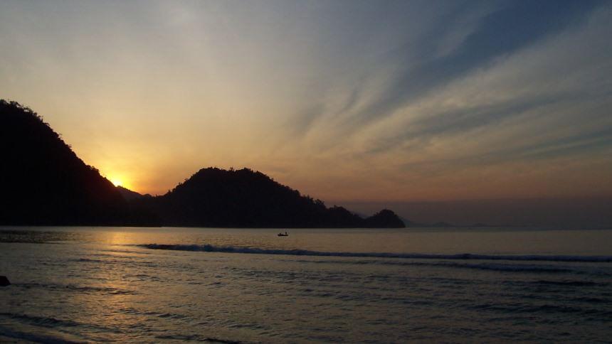 Sunset Pantai Tapaktuan Sunset Pantai Tapaktuan - Dolan Dolen
