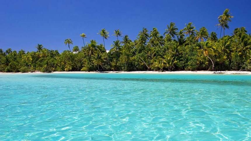 Kejernihan Air Laut Pantai Gapang - Wisata Kota Sabang Yang Cukup Populer