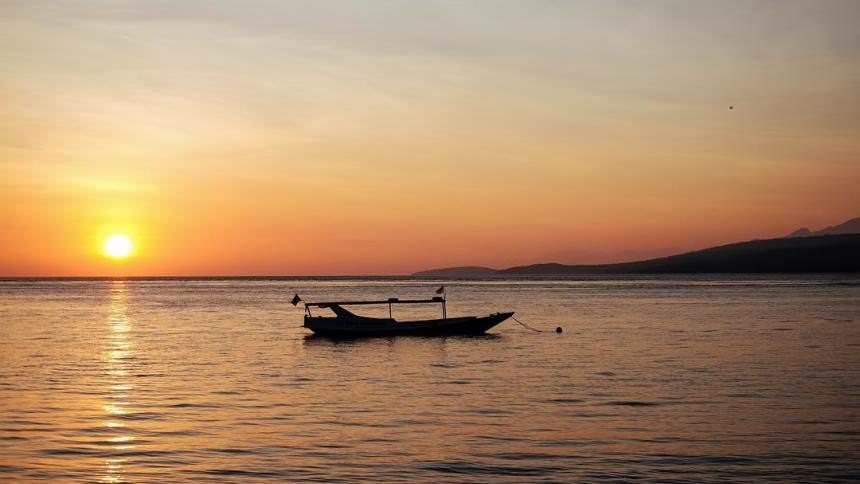 Pulau Tabuhan Sunset Pulau Tabuhan Sunset - Dolan Dolen