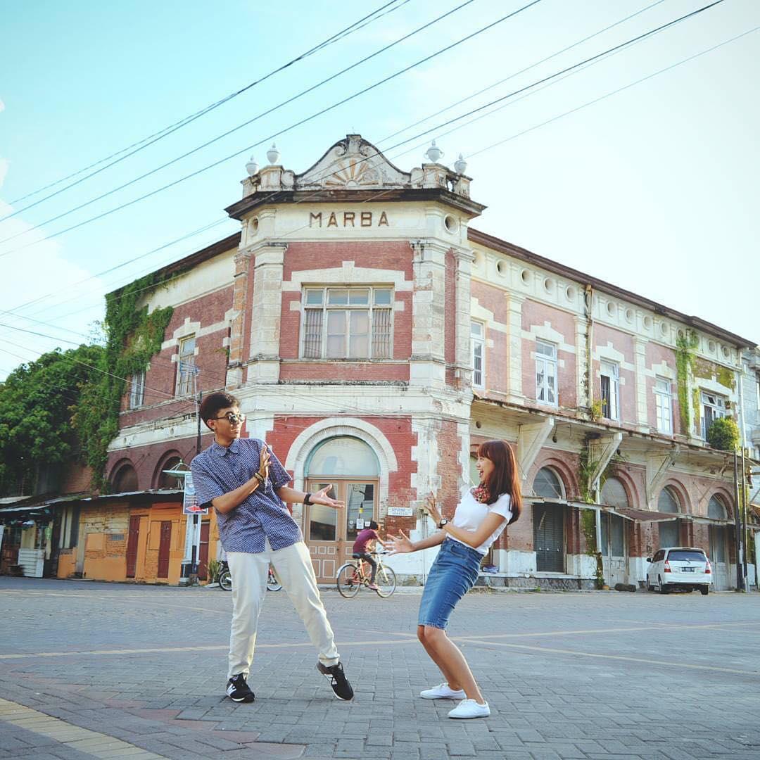 Semarang Old City Kota Lama Semarang by Bernadeta Dolaners - Dolan Dolen