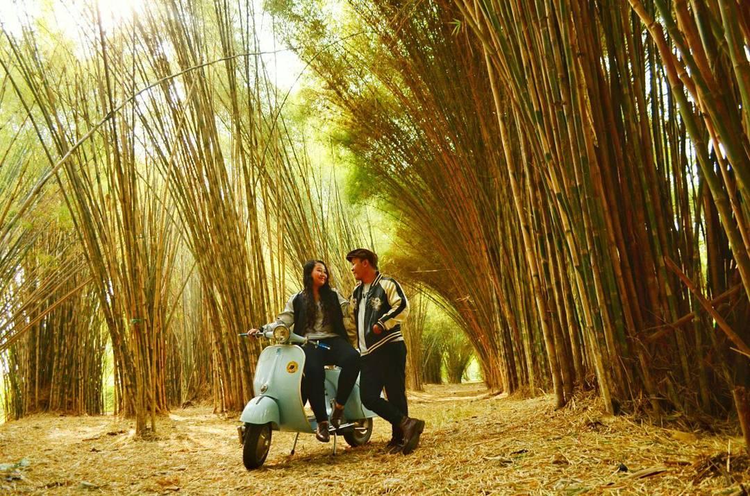 Hutan Bambu Surabaya, hutan bambu, Hutan Surabaya, Surabaya, prewed, Dolan Dolen, Doaners Hutan Bambu Surabaya via trisna putri soegianto - Dolan Dolen