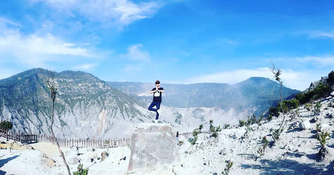 Gunung Tangkuban Perahu, Gunung Sangkuriang, Gunung Bandung, Bandung, Dolan Dolen, Dolaners Gunung Tangkuban Perahu via widera28 sudian - Dolan Dolen