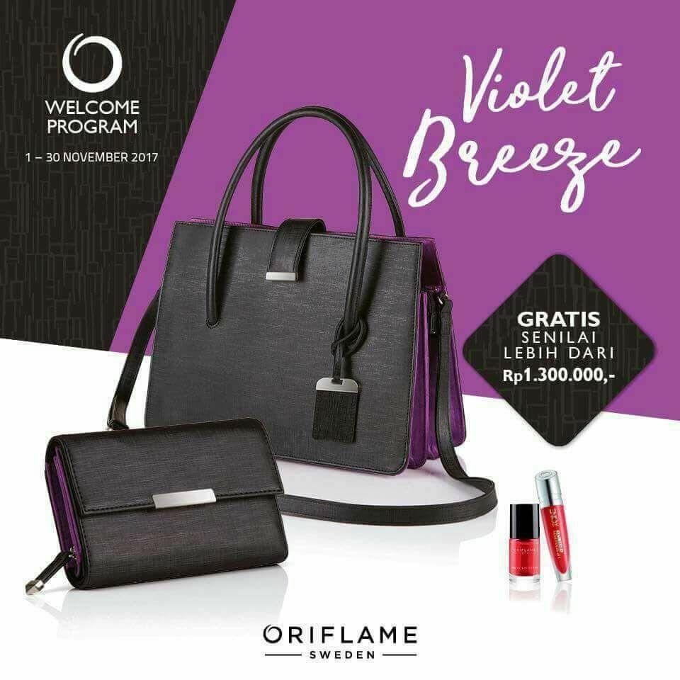 Violet Breege - Gratis sampai 1.3 Juta Promo Oriflame November 2017 Kota Malang dan Batu - Dolan Dolen