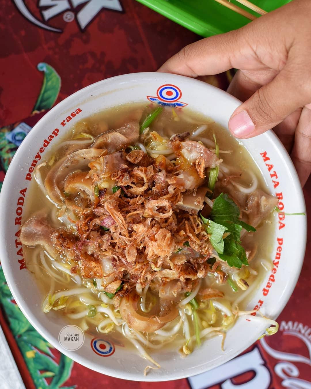 8 Mie Ayam Enak Pas Buat Jajan Kenyang Saat Hujan Di Yogyakarta