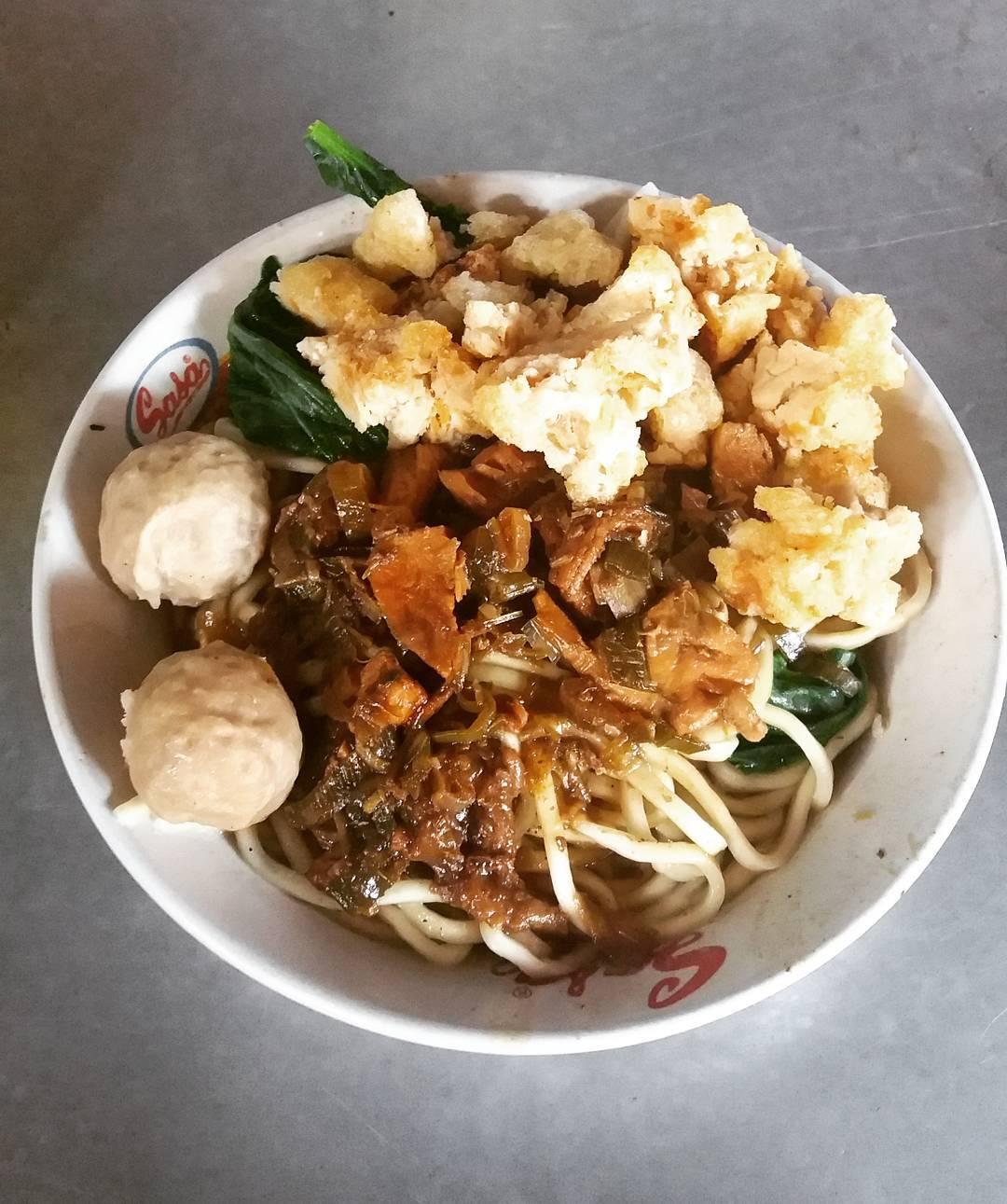 Mie Ayam Sendowo, Mie Ayam Sendowo Yogyakarta, Yogyakarta, Dolan Dolen, Dolaners Mie Ayam Sendowo via widya jelitahati - Dolan Dolen