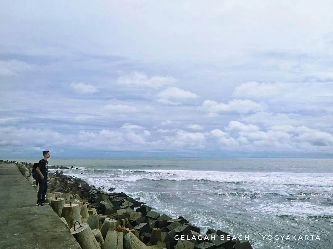 Pantai Glagah, Pantai Glagah Yogyakarta, Yogyakarta, Dolan Dolen, Dolaners Pantai Glagah by aa - Dolan Dolen