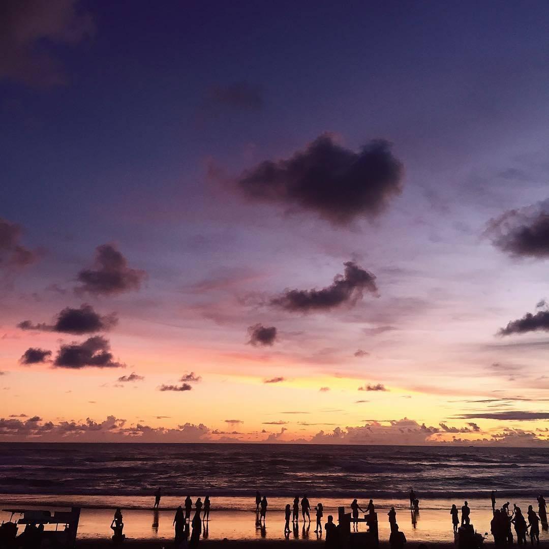 Sunset di Parangtritis, Sunset di Parangtritis Yogyakarta, Yogyakarta, Dolan Dolen, Dolaners Sunset di Parangtritis via gunturprasetyaa - Dolan Dolen