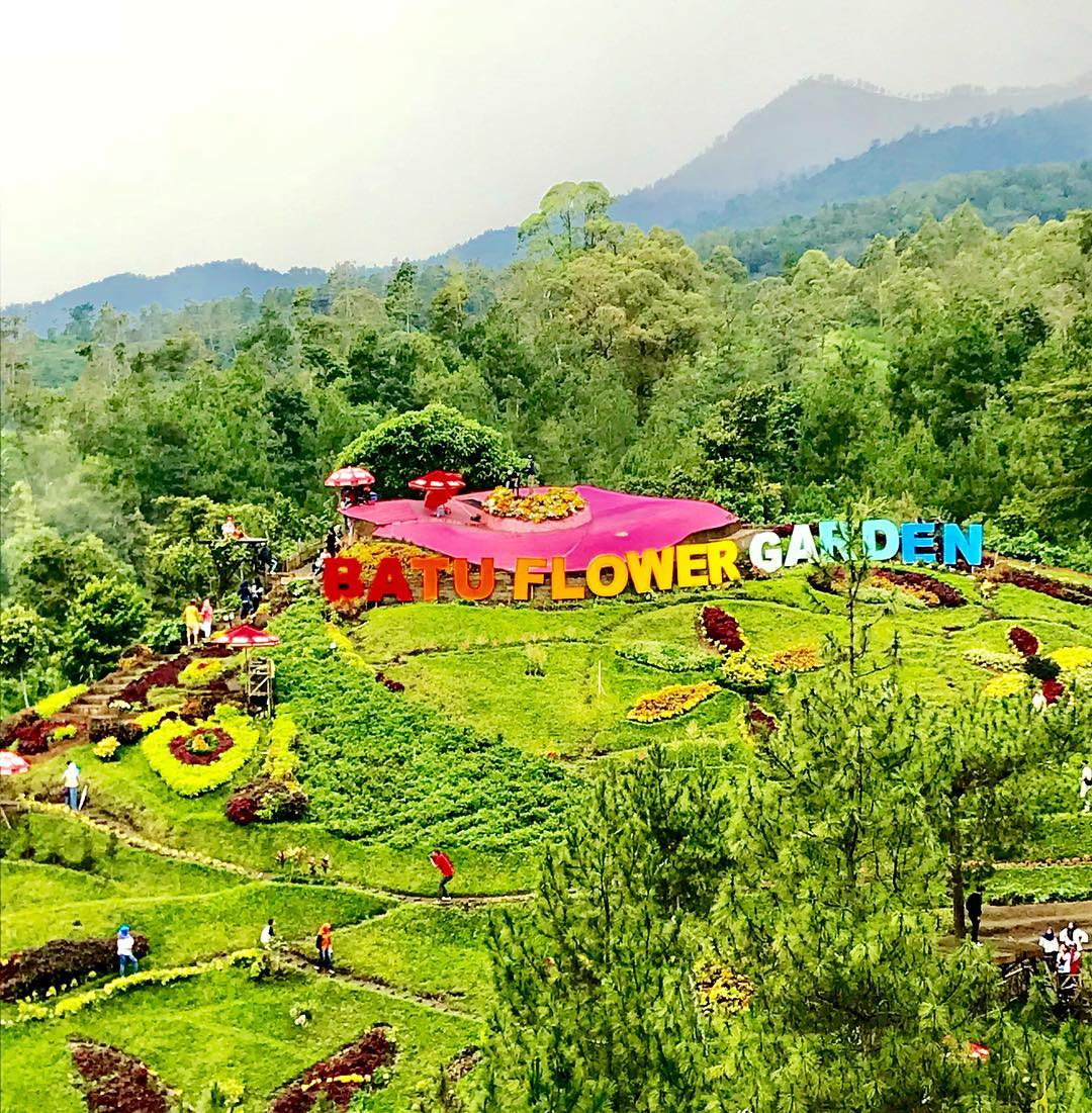 Batu Flower Garden, Kota Batu, Malang Raya, Dolan Dolen, Dolaners Batu Flower Garden via renata76s - Dolan Dolen