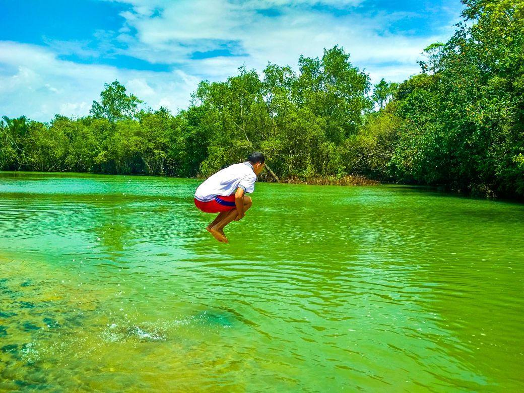 Air Tawar di Pantai Nganteb, Malang, Kabupaten Malang, Dolan Dolen, Dolaners via moch jihan24 - Dolan Dolen