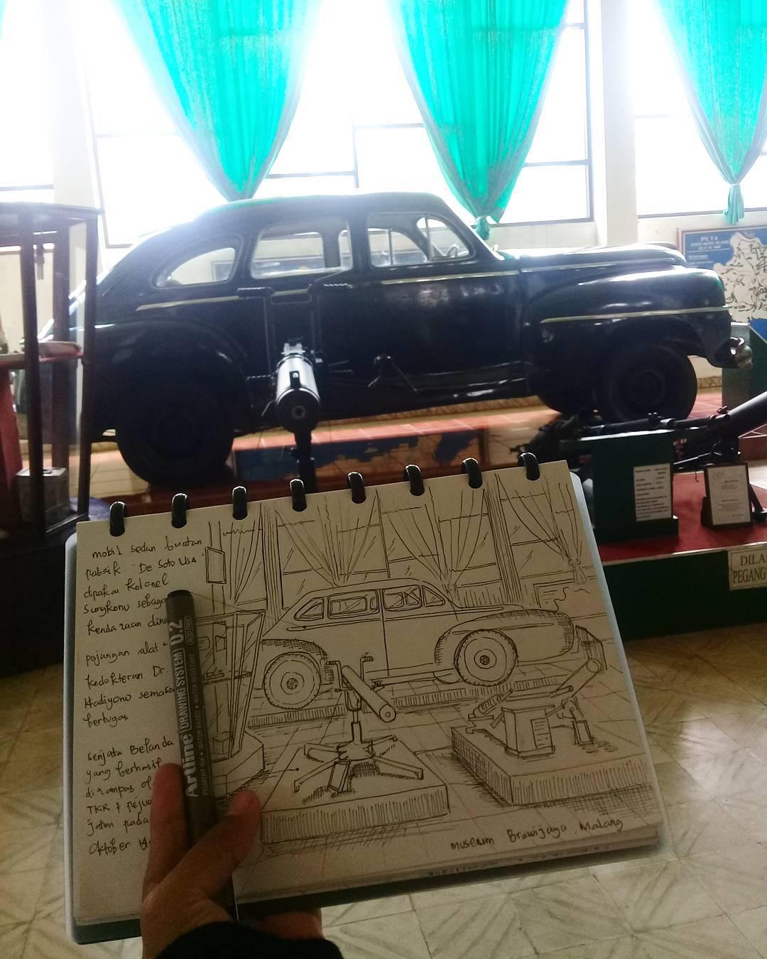 Museum Brawijaya, Museum Brawijaya Malang, Malang, Kota Malang, Dolan Dolen, Dolaners Museum Brawijaya via fitryatika - Dolan Dolen