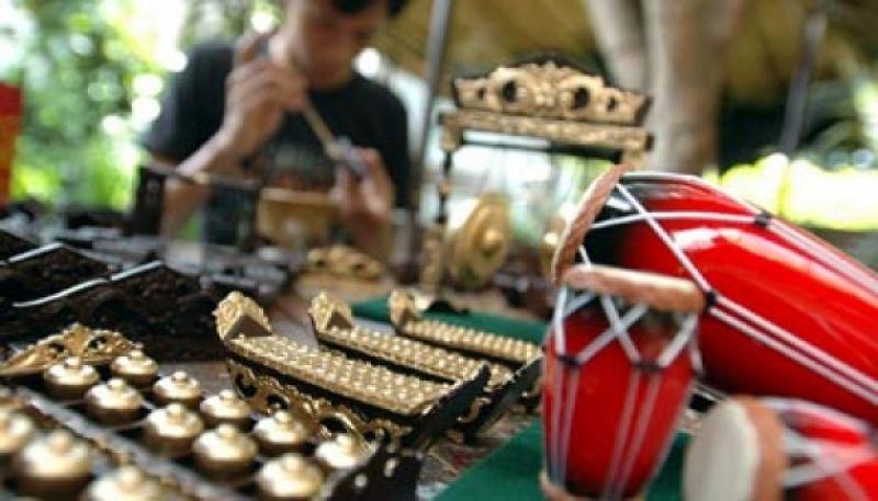 Oleh Oleh Alat Musik Bali Gamelan Mini Bali - Dolan Dolen