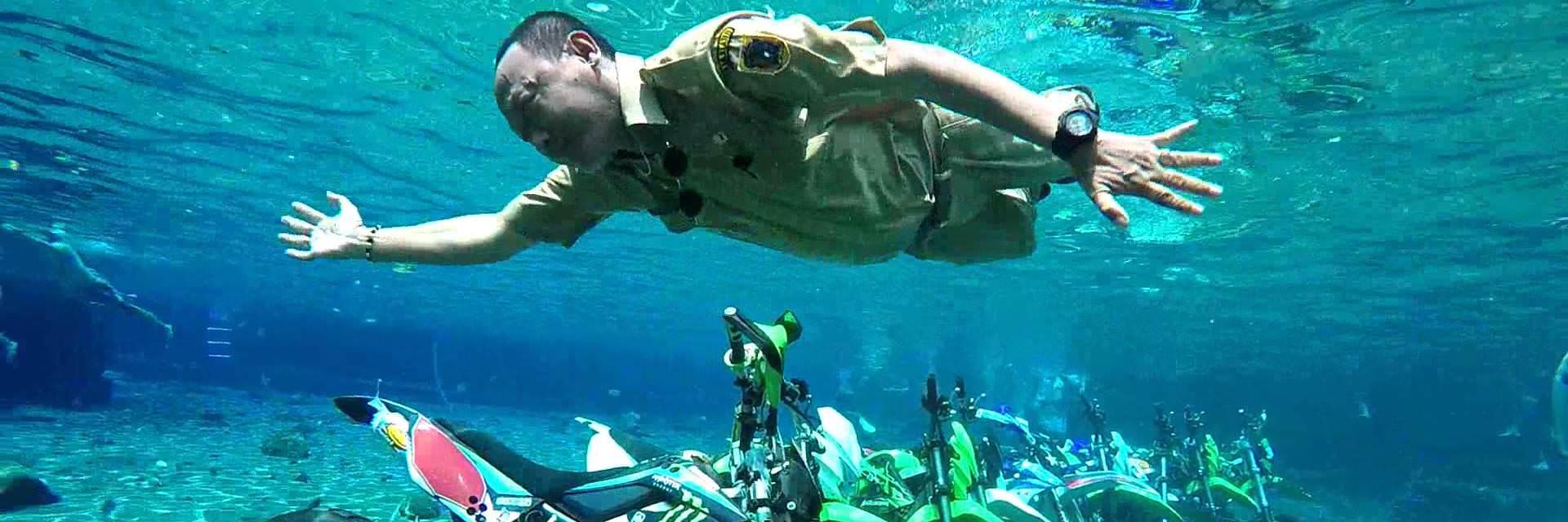4 Umbul Bersaudara dari Klaten dengan Keindahan yang Mempesona Untuk Spot Foto Underwater