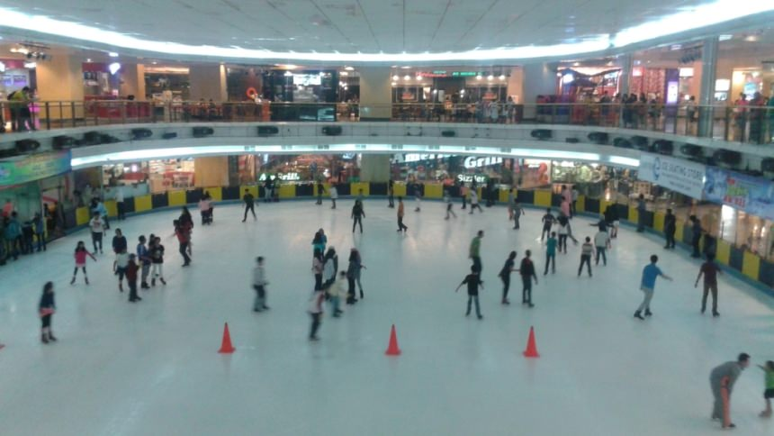 Ice Skating Sky Rink Mall Taman Anggrek
