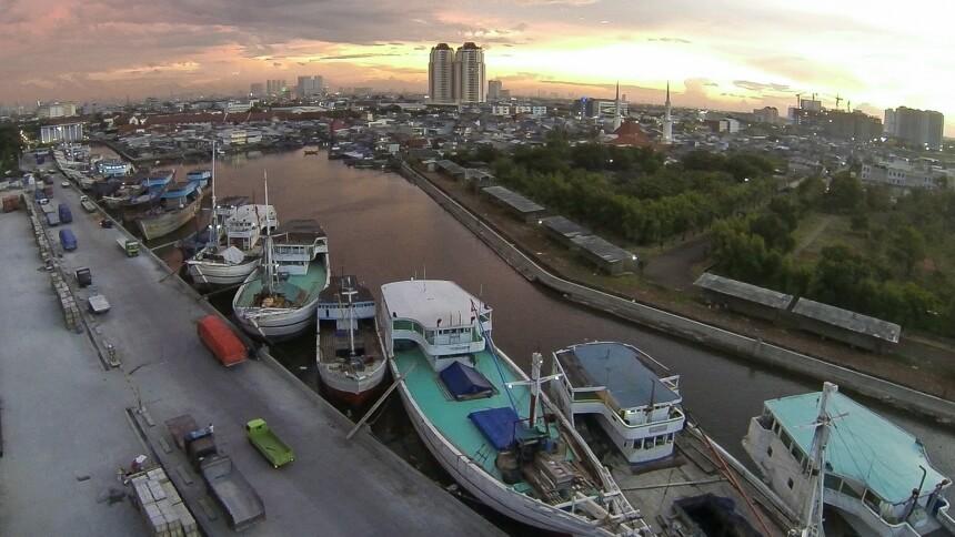Dermaga Pelabuhan Sunda Kelapa, Jakarta