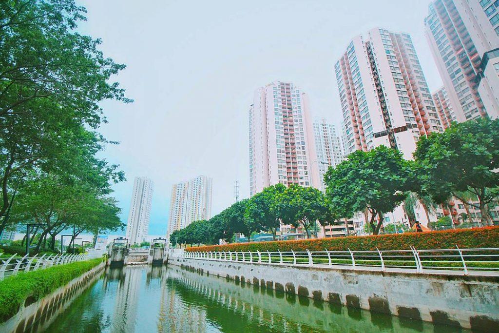 Taman Epicentrum Walk Kuningan, Jakarta
