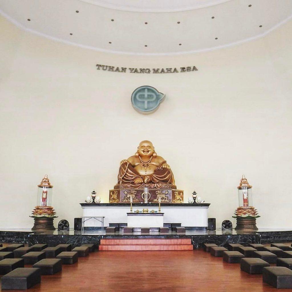 Maha Vihara Pusdiklat Buddha Maitreya