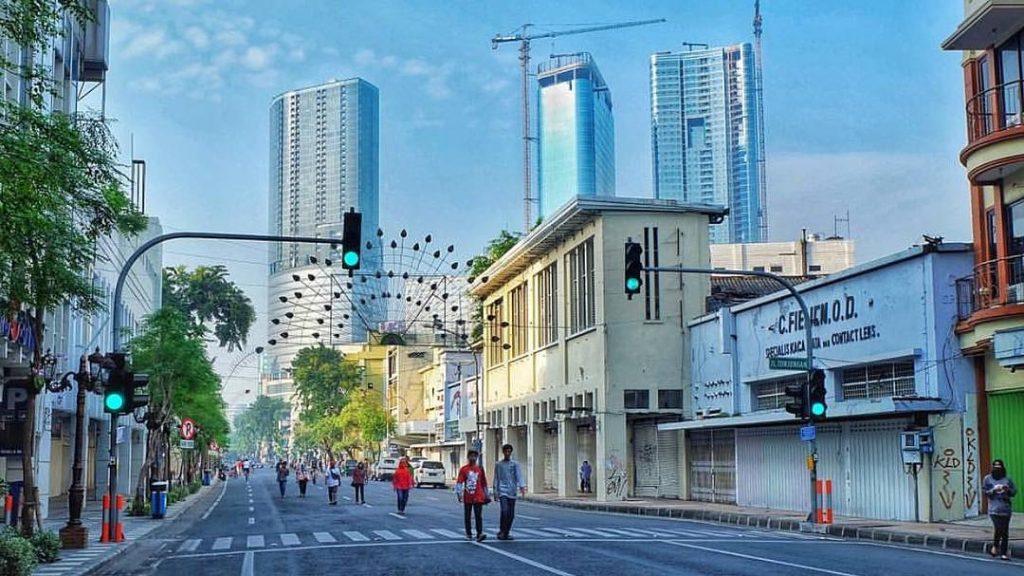Jalan Tunjungan Surabaya